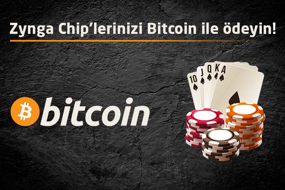 Bitcoin ile Zynga Poker Chip