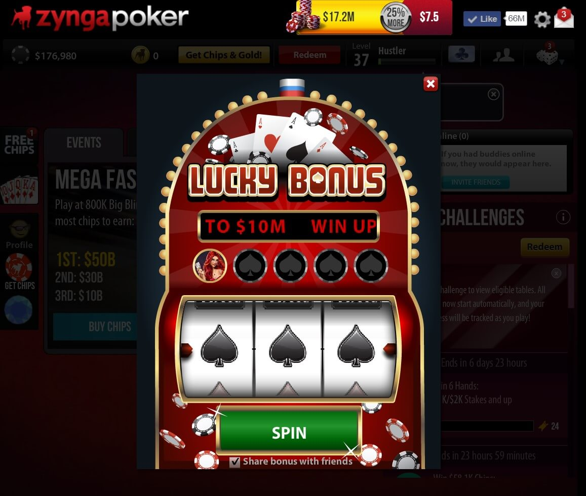 Zynga Poker Chips Free